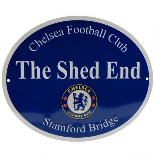 Chelsea Fc Shed End Sign Merchandise Cfc Football Gifts